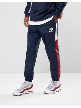 Nike Archive Track Jogger In Navy 921745-451 - Navy