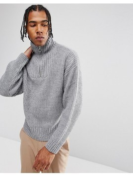 Weekday Arnold Turtleneck - Grey