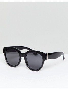 Mango Oversized Sunglasses - Black