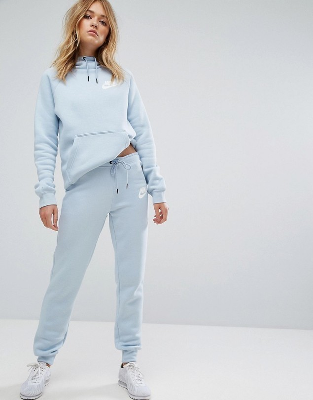 Nike Rally Tight Fit Sweat Pants - Blue