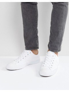Converse Ox Star Player Plimsolls In White 157760C - White