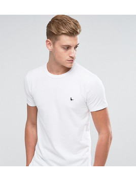 Jack Wills Landrier Muscle Fit T-Shirt in White - White