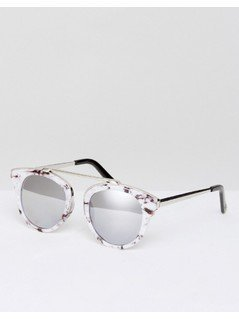 River Island Marble Effect Sunglasses - Multi