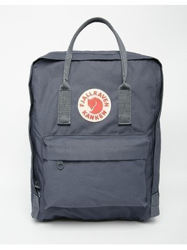 Fjallraven Classic Kanken Backpack in Graphite - Grey
