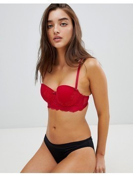 New Look lace bra - Red