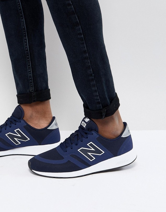 New Balance 420 Trainers In Navy MRL420CF - Navy