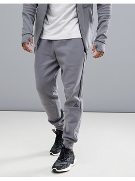 adidas ZNE Striker Joggers In Grey CW0867 - Grey