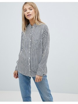 Pimkie Striped Shirt - White
