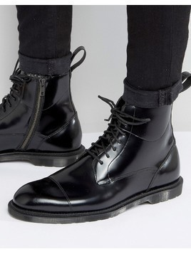 Dr Martens Winchester 7 Eye Lace&Zip Boots - Black