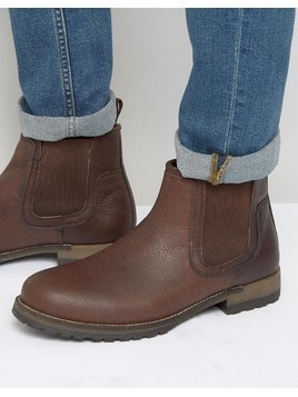 Red Tape Chelsea Boots Brown Leather - Brown