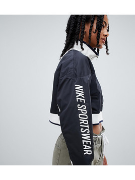 Nike Archive Track Jacket In Black - Black