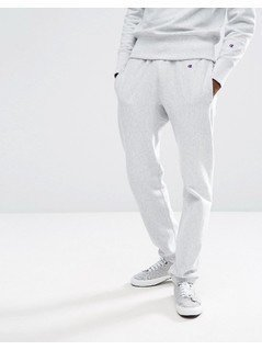 Champion Joggers With Small Logo - Grey