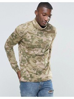 Puma Preppy Turtle Neck Top - Green