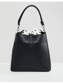 Pimkie Bucket Bag - Black