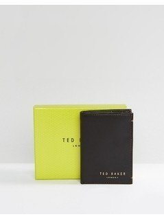 Ted Baker Zacks Bifold Leather Wallet - Brown