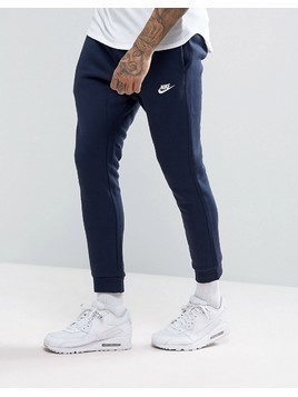Nike Cuffed Club Jogger in Navy 804408-451 - Navy