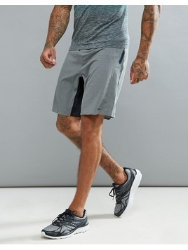 Saucony Running Runlife Stretch Woven Shorts In Grey - Grey