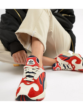 adidas Originals Yung-1 Trainers In Red Multi - Red