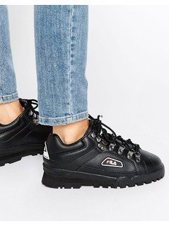 Fila Trailblazer Boots In Black - Black