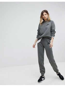 Nike Rally Tight Fit Sweat Pants In River Rock - Grey
