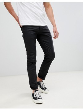 Jack & Jones Slim Fit Black Denim Jeans - Black
