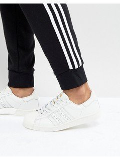 adidas Originals Superstar Trainers In White - White