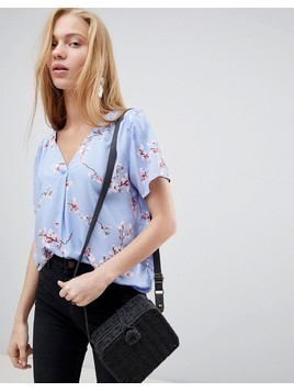 b.Young Cherry Blossom Blouse - Multi