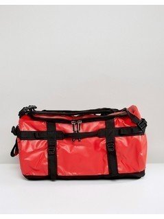 The North Face Base Camp Duffel Bag Small 50 Litres in Red/Black - Red