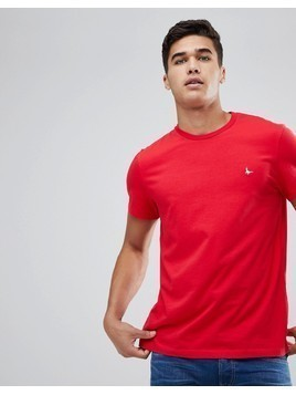 Jack Wills Sandleford T-Shirt In Red - Red