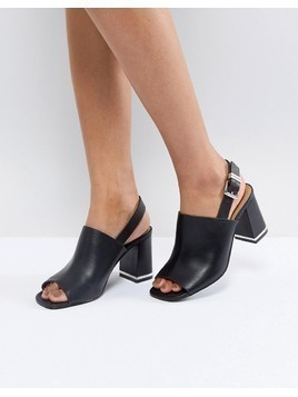 ASOS TIFFY Heeled Sandals - Black