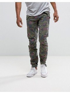 G-Star Rovic 3D Tapered Trouser Camo Print - Green