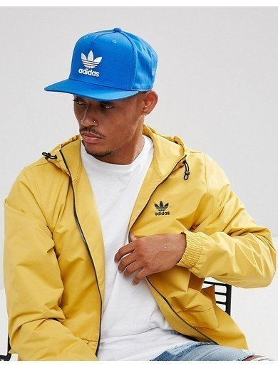 adidas Originals Trefoil Cap In Blue - Blue