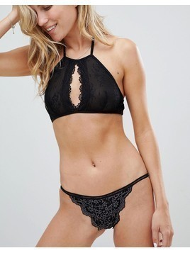 Free People Thong - Black