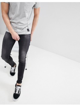 Cheap Monday Him Spray Super Skinny Jeans - Black