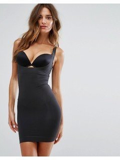 Spanx Shape My Day Open Bust Slip - Black