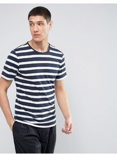 Casual Friday Stripe T-Shirt - Navy