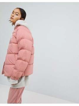 adidas Originals Down Filled Padded Jacket - Pink