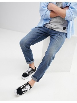 Cheap Monday Audiac Slim Tapered Fit Jeans - Blue