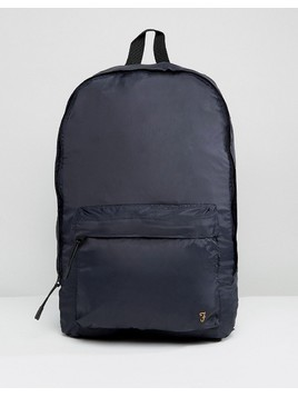 Farah Flemming Packaway Backpack - Navy