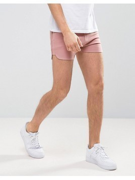 ASOS Jersey Runner Short In Pink - Pink