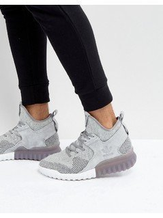 adidas Originals Tubular X PK Trainers In Grey - Grey