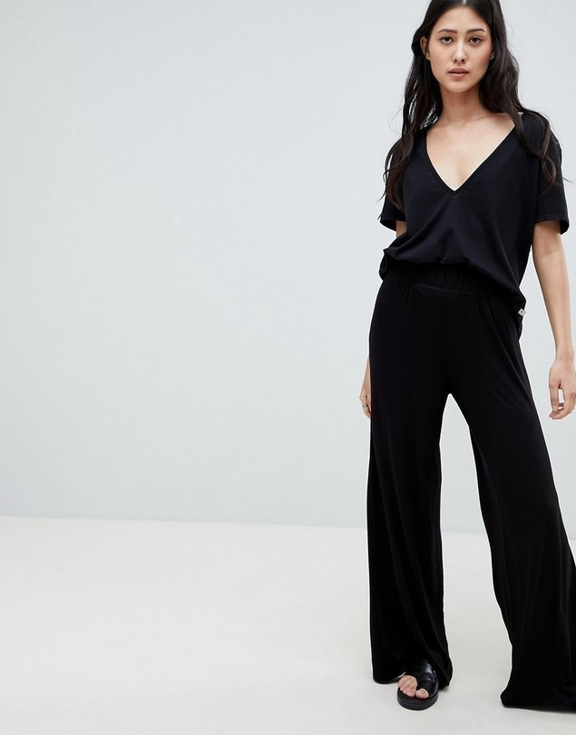 NYTT Eva Wide Leg Trousers - Black