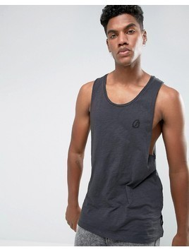 Criminal Damage West Racer Vest - Grey