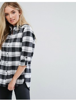 Parisian Check Shirt - Black