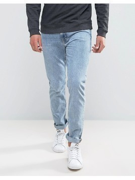 Weekday Friday Skinny Fit Jeans Wow Blue - Blue