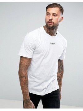 Nicce London Boxy T-Shirt - White