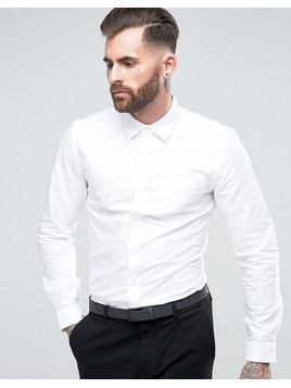 Rudie Smart Oxford Shirt - White