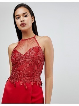 River Island Lace Bralet - Red