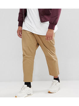 Only&Sons PLUS Cropped Chino - Beige
