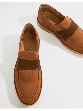 Selected Homme Desert Loafer - Tan